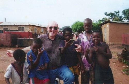Michael Anthony Niewodowski in Ghana